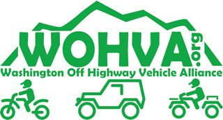 New WOHVA logo ferry county jeep trails