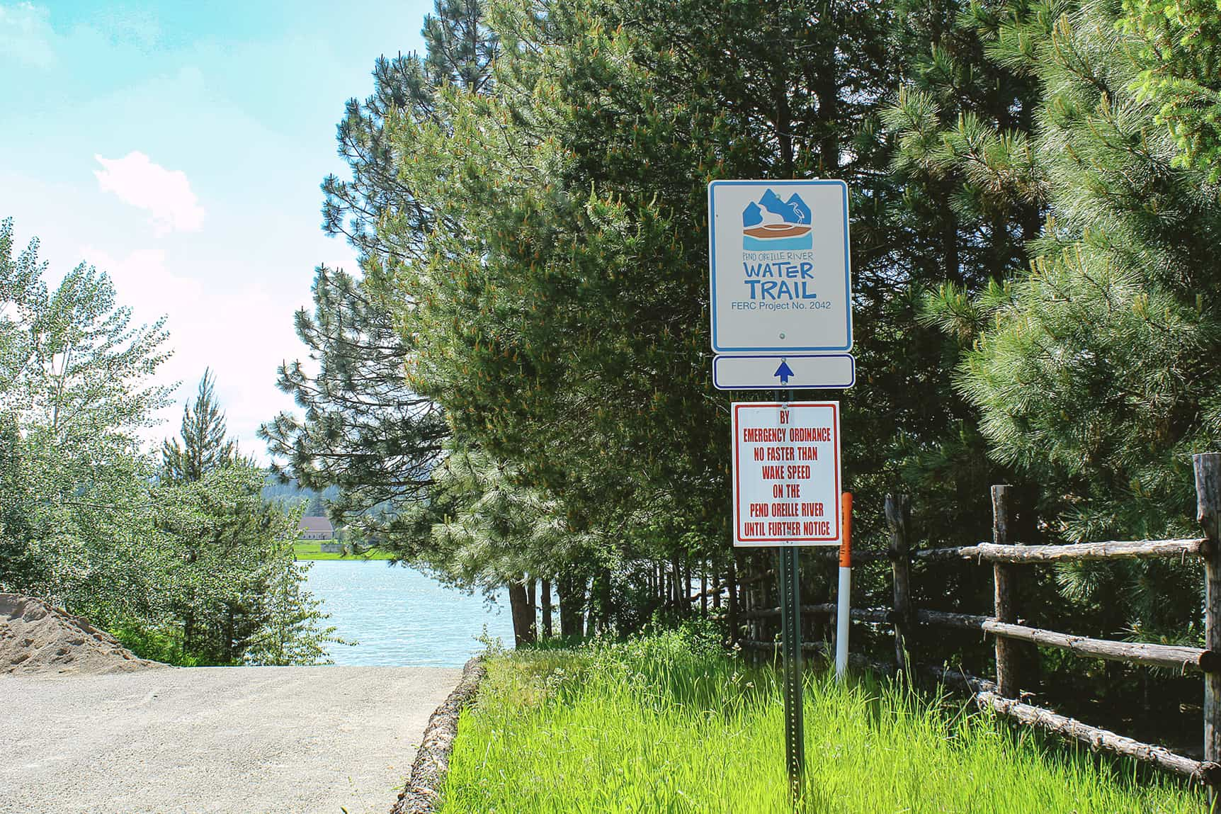 pend oreille water trail