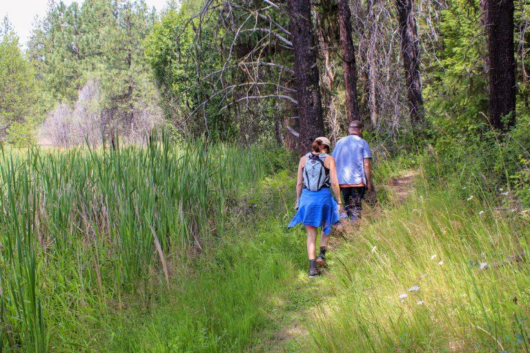 Hiking McDowell Marsh Trail-sm